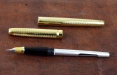 vintage-wing-sung-chevron-fountain-pen-dualtone-triumph-F-nib