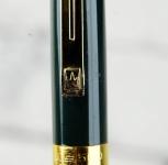 wingsung-vintage-novo-fountainpen-golden-Fine-nib-1980-golden-trim