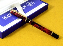 waterman-fountain-pen-laureat-23Karat-gold-plated-M-nib-paris