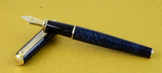 diplomat-1922-classic-collection-fountain-pen-Dualtone-irridium-M-nib-Germany-Made