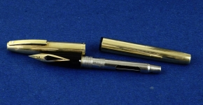 vintage-sheaffer-imperial-797-fountain-pen-12K-gold-filled-14K-solid-gold-Fine-nib-australia