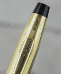 vintage-cross-century-fountain-pen-10K-gold-filled-barrel-14K-solid-gold-F-nib-USA-made