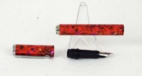 vintage-sheaffer-pop-fountain-pen-stainless-steel-Fine-nib