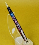 Vintage-Ero-Piston-filler-fountain-pen-gold-plated-F-nib-German-made