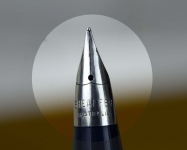 vintage-sheaffers-imperial-touchdown-II-grey-barrel-fountain-pen-triumph-Fine-nib