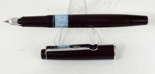 vintage-German-made-ERO-piston-filler-fountain-pen-with-hooded-Fine-nib
