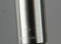 vintage-Parker-45-fountain-pen-black-barrel-steel-nib-USA