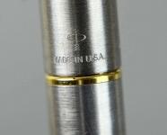 vintage-parker-45-flighter-steel-barrel-fountain-pen-14K-solid-gold-nib
