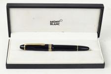 montblanc-Meisterstuck-piston-filler-146-fountain-pen-14K-dual-tone-585-Fine-gold-nib-West-Germany
