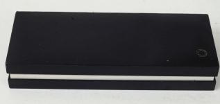 Montblanc-Meisterstuck-146-piston-filler-fountain-pen-14K-dualtone-585-F-nib-original-box