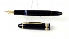 Vintage-Montblanc-Meisterstuck-LeGrand-146-piston-filler-fountain-pen-1980-Fine-nib