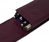 Genuine-leather-4-pen-case-bordeaux