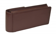 Genuine-Leather-Choco-brown-4-pen-case-pouch