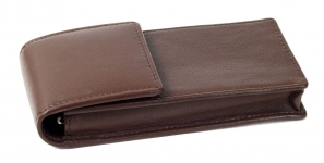Genuine-Leather-Chocolate-brown-4-pen-case