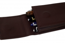 Genuine-Leather-Choco-brown-4-pen-pouch