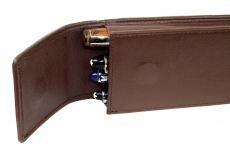 Genuine-Leather-Chocolate-brown-4-pen-pouch