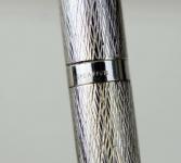 vintage-lady-sheaffer-925-Silver-wave-Fountain-pen-14K-conical-Medium-nib