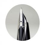 Vintage-sheaffer-white-dot-targa-fountain-pen-steel-barrel-steel-F-nib-original-1970