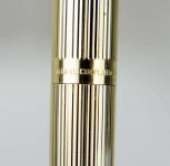 vintage-Sheaffer-targa-1005-Gold-plated-fountain-pen-ballpoint-set-14KT-solid-gold-M-nib