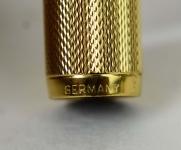 vintage-Dunhill-Montblanc-23K-barrel-14K-585-solid-gold-Broad-nib-German-made