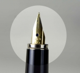 Vintage-pilot-fountain-pen-with-golden-plated-Fine-nib