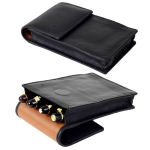 black leather pouch super jumbo