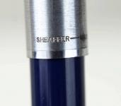 vintage-Sheafer-imperial-440-blue-barrel-fountain-pen-steel-fine-nib-usa-made