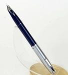 vintage-sheafer-imperial-440-blue-barrel-fountain-pen-steel-fine-nib-usa