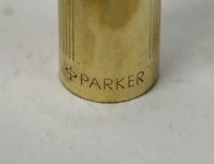 vintage-parker-95-flighter-12k-Gold-filled-fountain-pen-23K-gold-plated-Medium-nib