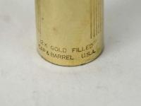 vintage-parker-95-flighter-Gold-filled-fountain-pen-23K-arrow-gold-plated-Medium-nib