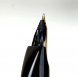 vintage-platinum-pocket-fountain-pen-with-18K-solid-gold-M-nib-Japan