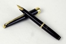 vintage-platinum-pocket-fountain-pen-with-18Karat-gold-M-nib