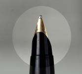 vintage-parker-45-flighter-foutain-pen-metalic-blue-14K-solid-gold-Broad-nib