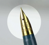 Vintage-wingsung-233-aero-filler-fountain-pen-F-gold-plated-nib