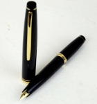 vintage-sailor-posting-pocket-fountain-pen-with-14K-solid-gold-Fine-Nib-Japan