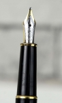 vintage-montblanc-meisterstuck-144-fountain-pen-14K-solid-gold-dualtone-B-nib-german-made