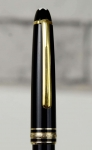 vintage-montblanc-meisterstuck-144-fountain-pen-14K-solid-gold-dualtone-Broad-nib-german-made