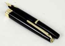 vintage-platinum-pocket-18k-fountain-pen-18K-gold-M-nib-japan