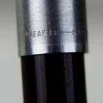 vintage-sheaffer-imperial-440-burgundy-barrel-fountain-pen-inlaid-Fine-nib-USA