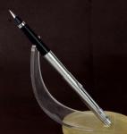 vintage-parker-classic-flighter-fountain-pen-steel-180-Medium-nib