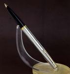 vintage-parker-45-flighter-steel-fountain-pen-with-14K-solid-gold-Medium-nib-England