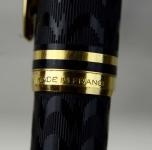 waterman-Le-man-100-opera-black-fountain-pen-18K-750-ideal-Medium-nib-France-made