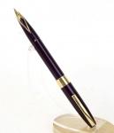 vintage-sheaffer-imperial-4-touchdown-fountain-pen-14K-solid-gold-fine-nib-USA