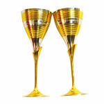 Antikcart Vintage Globet Wine Glass Set